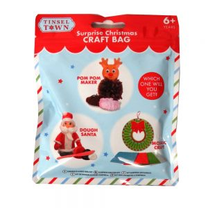 Tinsel Town Surprise Christmas Craft Bag Front