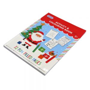 Tinsel Town Christmas Colouring and Activity Book Front 2