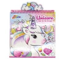 Unicorn Colour and Stick Fun Album Front