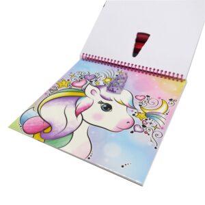 Unicorn Colour and Stick Fun Album Front 4