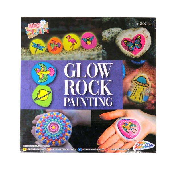 Glow Rock Painting Front