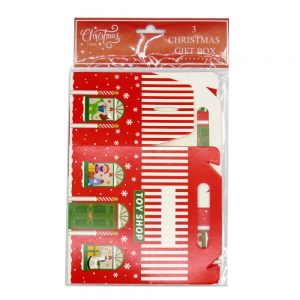 Mini Christmas Treat Boxes Pack of 3 Front