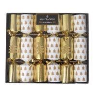 Harvey Mason Christmas Crackers White Gold Tree Front 2