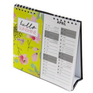 2021 Slogans Desk Standing Calendar Very Busy Front 2