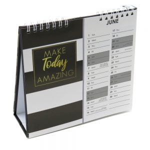 2021 Slogans Desk Standing Calendar Very Busy Front 3