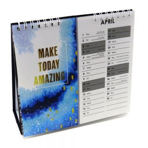 2021 Slogans Desk Standing Calendar Plan Your Year Front 4