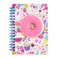 A6 Sweet Treat Squishy Notebook Sweet Things Front