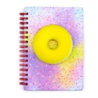 A6 Sweet Treat Squishy Notebook Sprinkles Front