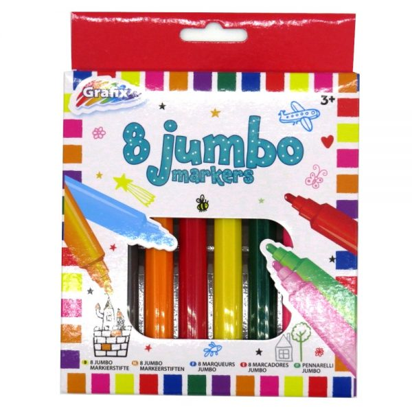 Grafix Jumbo Colouring Markers