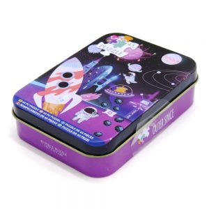 Jigsaw Puzzle in a Tin Outer Space Front 2