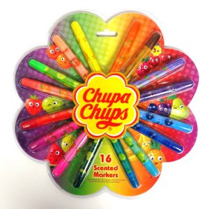 Chupa Chups Scented Colouring Markers