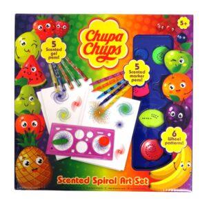 Chupa Chups Scented Spiral Art Set Front
