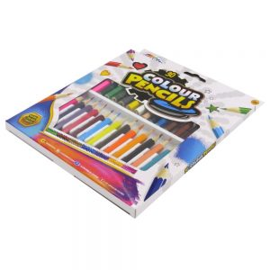 Grafix Mini Colouring Pencils Front 2
