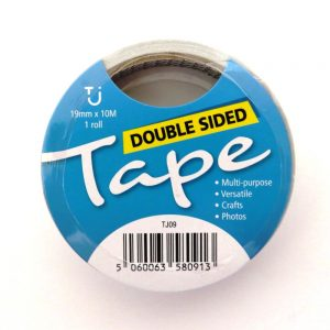 Double Sided Tape 19mm x 10m