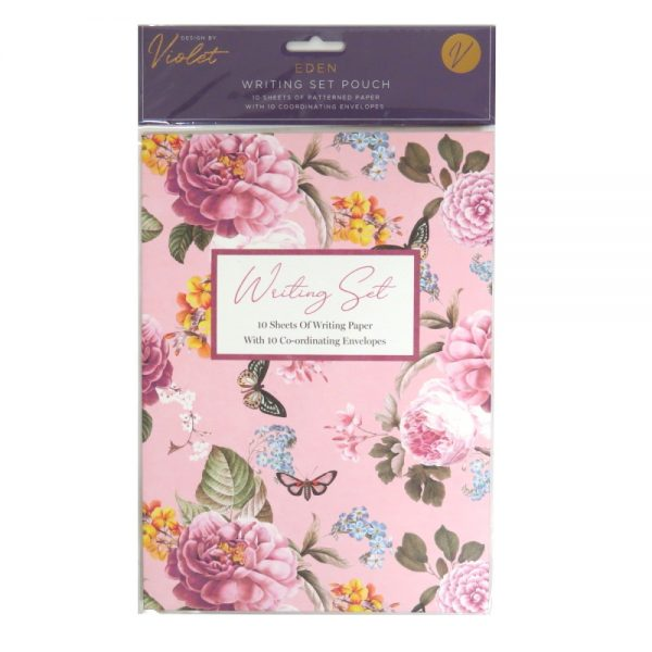 Design by Violet Writing Pouch Eden Front