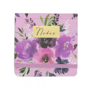 DBV Mini Jotter Pocket Notebook Wild Roses Front