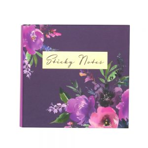 DBV Sticky Notes Folder Wild Roses Front