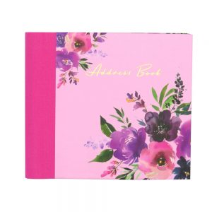 DBV Address Book Wild Roses Front