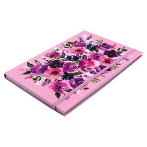 DBV A5 Notebook Wild Roses Front 2