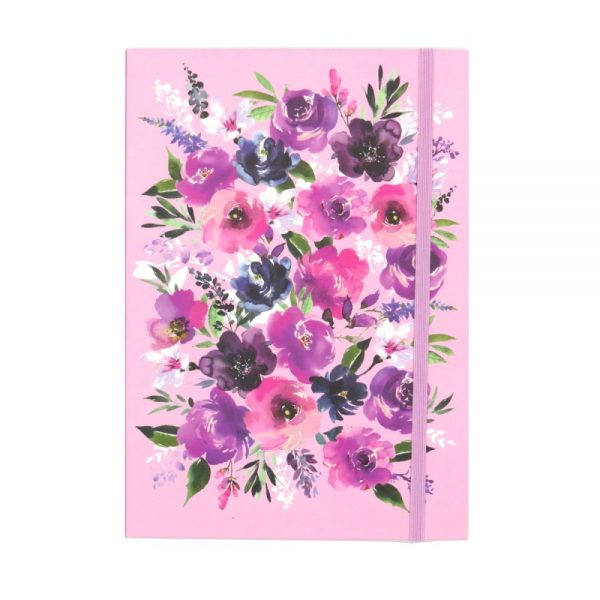 DBV A5 Notebook Wild Roses