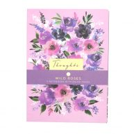DBV A4 Notebooks 3 Pack Wild Roses
