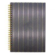 DBV A4 Wire Notebook Onyx