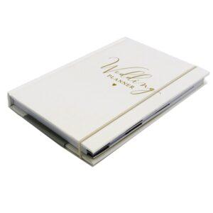 DBV Wedding Planner A5 Notebook Front 2