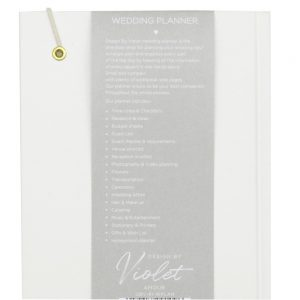 DBV Wedding Planner A5 Notebook Front 3