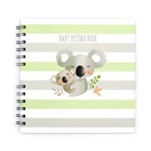 Koala Cuddles Baby Record Book