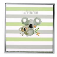 Koala Cuddles Baby Memory Book