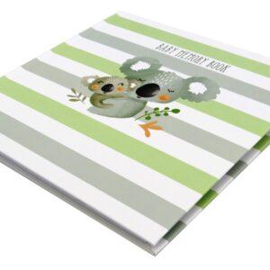 Koala Cuddles Baby Memory Book Front 2