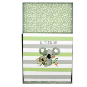 Koala Cuddles Baby Memory Book Front 6