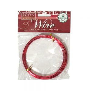 Icon Craft Wire Red