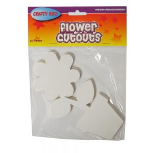 Flower Pot Cut Outs Card Shapes