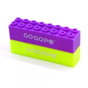 Gogopo Building Block Highlighter Pens Front 5