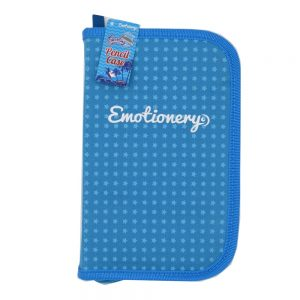 Emotionery Blue Compartment Pencil Case