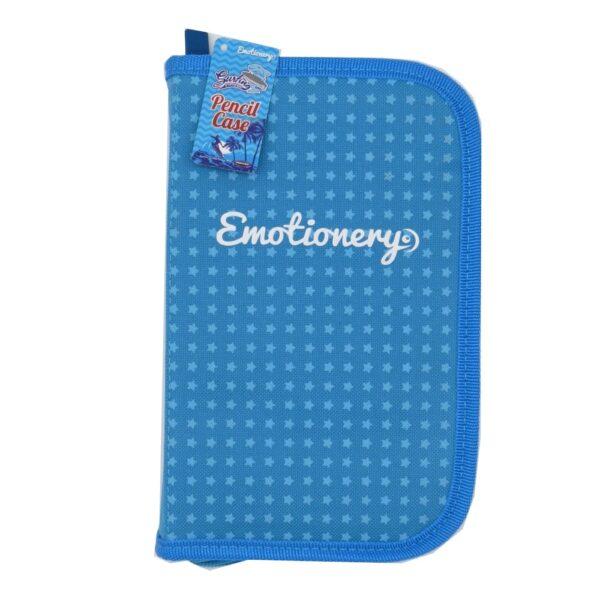 Emotionery Blue Compartment Pencil Case