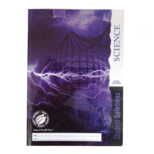 Student Solutions A4 Science Notebook