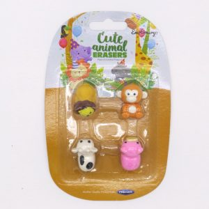 Cute Animals 3D Erasers