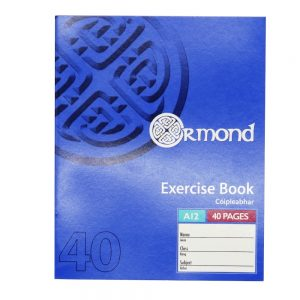 Ormond 40 Page Exercise Book