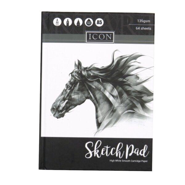 Icon High Grade A5 Sketch Book