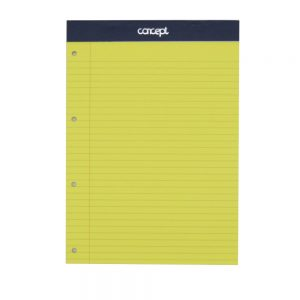 A4 Concept Legal Yellow Pad
