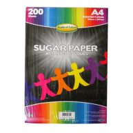 A4 Sugar Paper 200 Sheet Ream Large