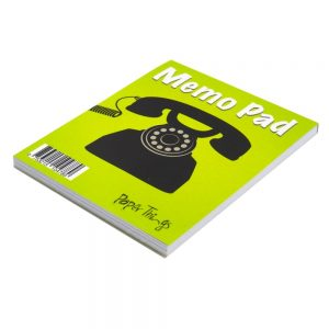 Telephone Memo Notepad - Front 2