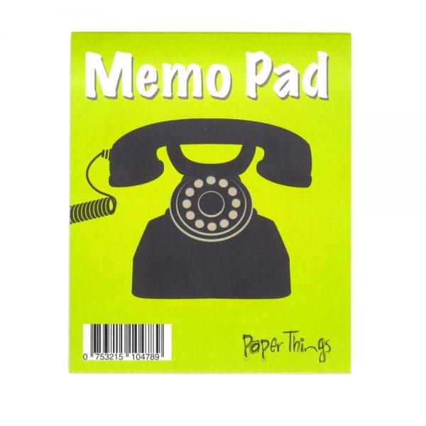 Telephone Memo Message Notepad, 50 Sheets