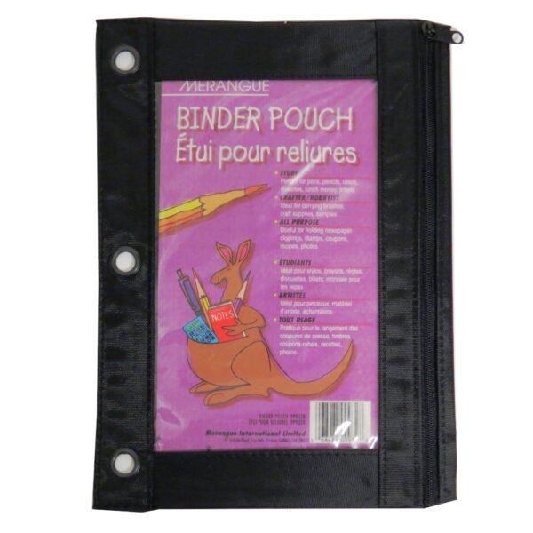 Black Binder Pouch