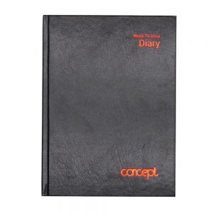A5 Concept Undated Diary