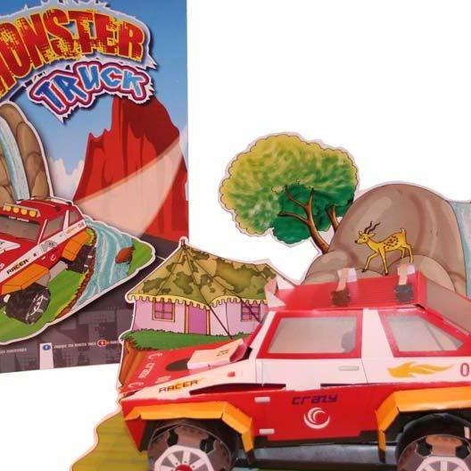 Build Your Own 3D Model Monster Truck