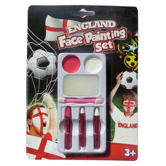 England Face Painting 4 Piece Set