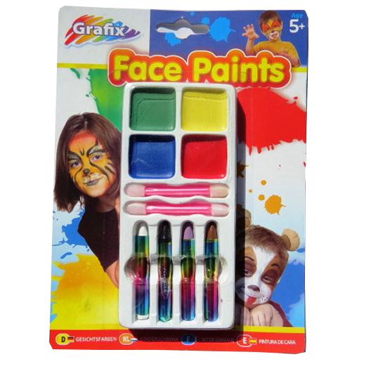 Face Painting 3 Piece Set